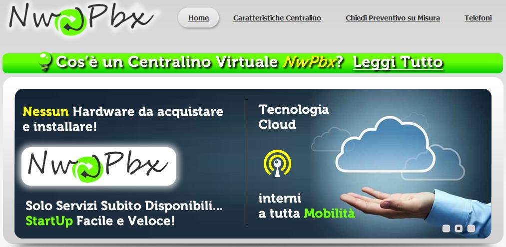 NW PBX centralino virtuale