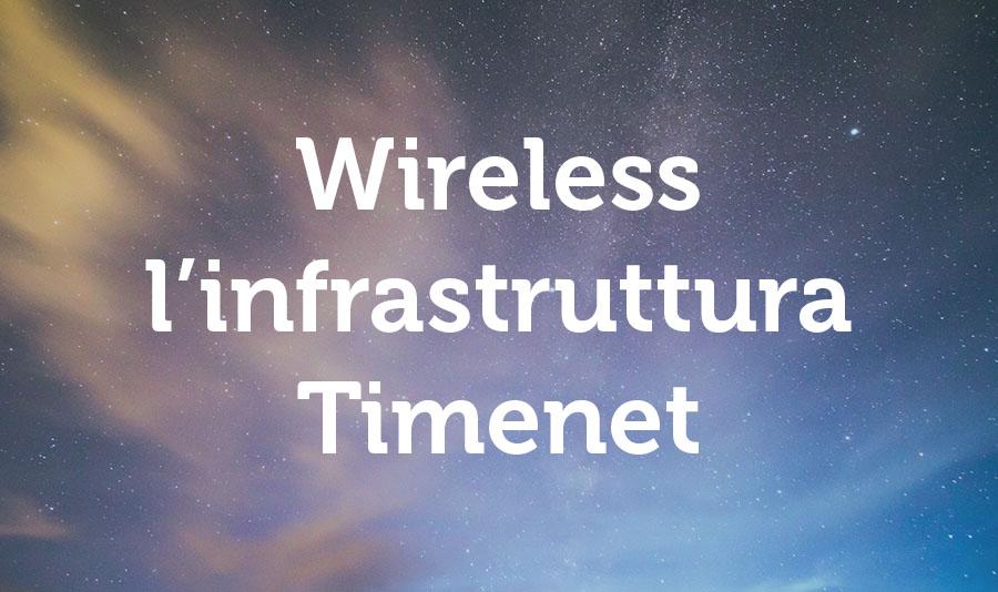 immagine infrastruttura wireless timenet