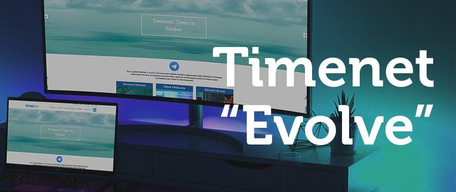 Timenet Evolve, nuovo sito in vista e non solo
