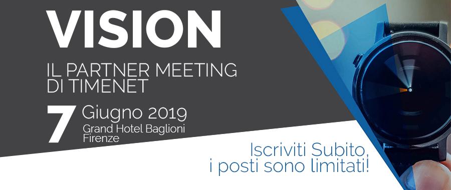 7 Giugno - VISION il Partner Meeting di Timenet sulle Telecomunicazioni