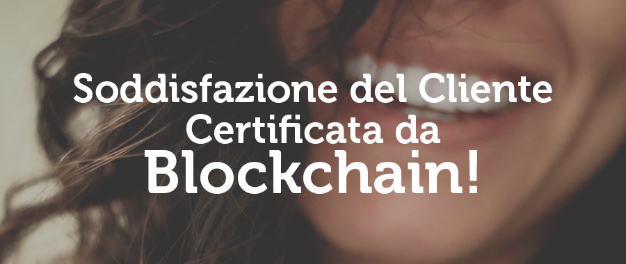 Recensioni su Blockchain: Servono ai Partner per dare valore all'offerta e ai Clienti per conoscer l'efficienza dei servizi.