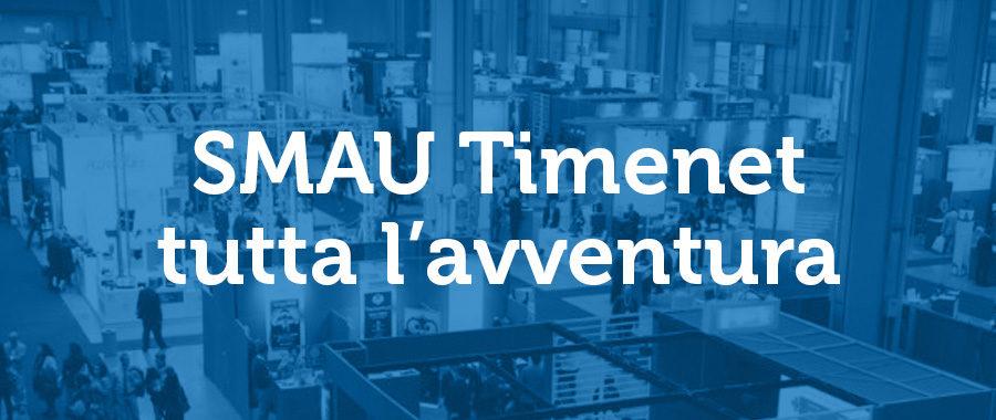 Timenet a SMAU, Davide tra molti Golia in cerca di Startup