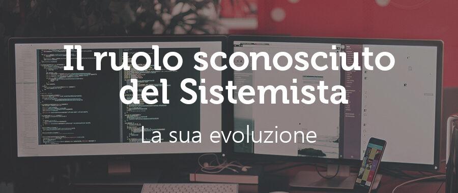 """L'""""evoluzione """"del Sistemista"""